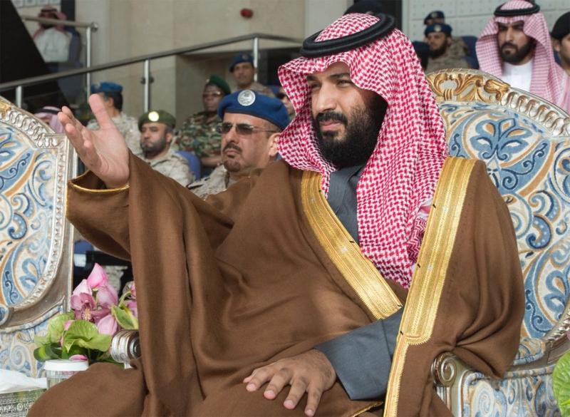الأمير محمد بن سلمان رعي