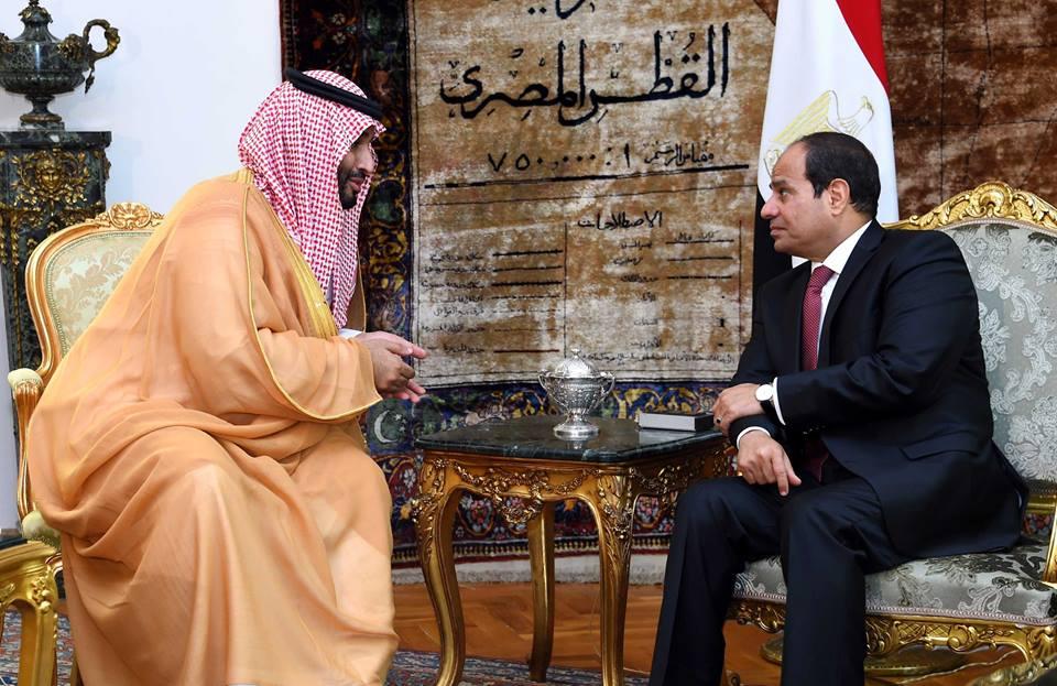 زيارة ولي العهد لمصر