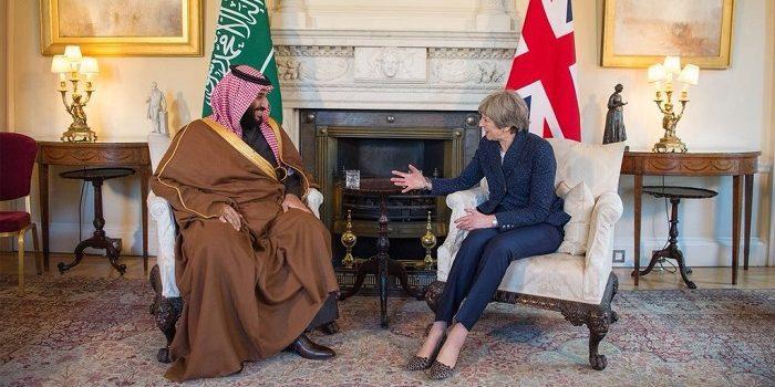 محمد بن سلمان في لندن